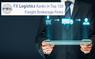 FX Logistics Ranks In Top 150 Freight Brokerage Firms